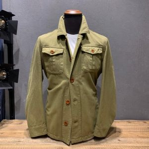 CAPALBIO FIELD JACKET VERDE BOSCO